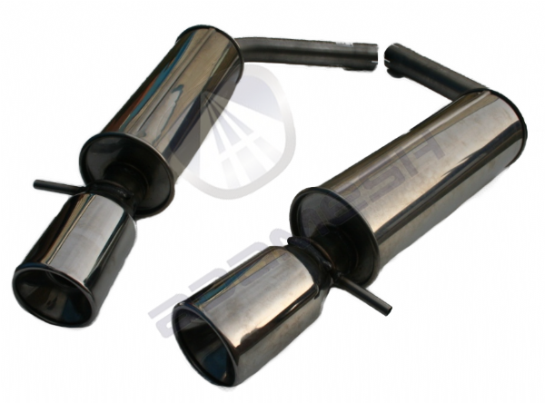 S Type Performance Exhaust - 4.0L, 4.2L & 4.2L S Type R